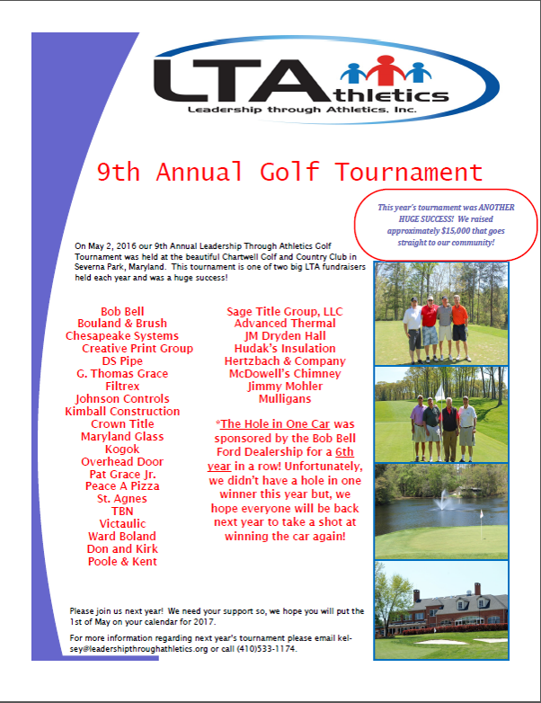 LTA 9th Annual Golf Tournament